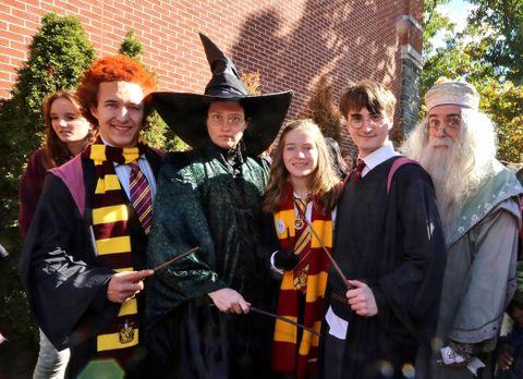 The Harry Potter Festival in Chestnut Hill.